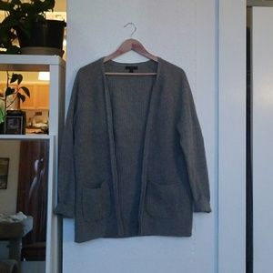 J-Crew knitted cardigan